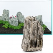 Rocas Glimmer Wood - 5 rocas: 10 - 18 cm, 8 kg aprox.