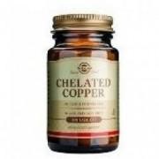 Chelated Copper Cupru Chelat Solgar 100tbl