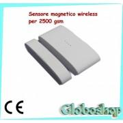 Sensore magnetico 433 Mhz wireless per centrale 2500