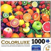 Colorluxe 1000 Piece Puzzle - Fresh Mixed Fruits
