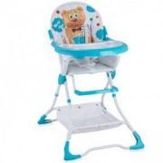 Детско столче за хранене Bravo, Lorelli, Blue Hello Bear, 0740041