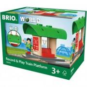 Record & Play vonat állomás Brio