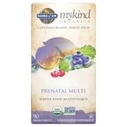 Garden of Life mykind Organics Multivitamines Prénatales - 90 Comprimés