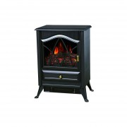Calefactor Electrico Estufa Simil Hogar Clever 1800w Fpp1800