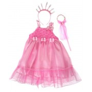 Костюм Принцесса, платье 56 см, ободок, палочка