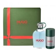 Hugo Boss Hugo Edt 75 + 75Ml Deostick 75Ml Per Uomo (Eau De Toilette)