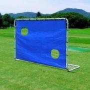 Футболна врата, 182 x 122 x 61 см., с тренировъчни отвори, Master, MASSPSO-0008