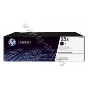 Тонер HP 25X за M806/M830 (40K), p/n CF325X - Оригинален HP консуматив - тонер касета