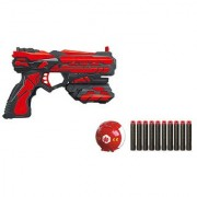 High Speed Bullet Gun Toy with 10 Foam Darts and Aiming Ball for Kids-TW-FJ411