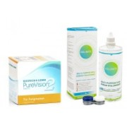 PureVision 2 for Astigmatism (6 linser) + Solunate Multi-Purpose 400 ml med linsetui