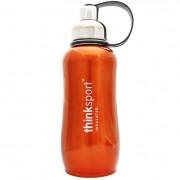 Thinksport Stainless Steel Sports Bottle - Orange - 25 oz