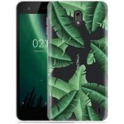 Nokia 2 Hoesje Palm Leaves