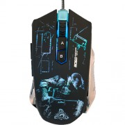 Mouse Marvo G906 4000 dpi, Optic, 9 Butoane, USB