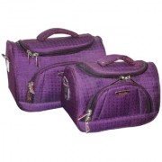 Pride Lotus to store cosmetics Vanity Box Purple (2 Piece Set)