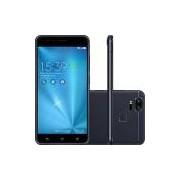 Smartphone Asus Zenfone 3 Zoom Dual Chip Android 6.0 Tela 5.5 Snapdragon 128GB 4G Wi-Fi Câmera 13MP - Preto