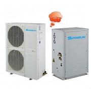 SPRSUN Термопомпа въздух вода EVI Сплит Серия за отопление до -25 градуса