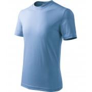 ADLER Basic Dětské triko 13815 nebesky modrá 146