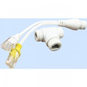 POE Splitter Adapter with Combiner Cable for 2 Devices on 1xPOE Network Cable IP CCTV Cameras Wifi Access Points