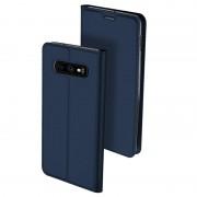Dux Ducis Skin Pro Samsung Galaxy S10e Flip Case - Dark Blue