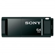 USB DRIVE, 64GB, Sony New microvault, USB3.0, Click, Black (USM64GXB)