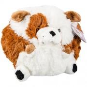 Squishable Bulldog Plush, Brown and White, Mini 7 by Squishable Minis