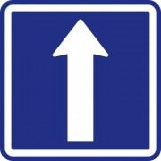 B2B Partner Dopravní značka – jednosměrný provoz