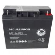 Baren Batteria Piombo-Acido 12V 17,0Ah (Attacco a vite), BSP12V-17F3