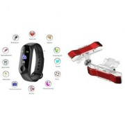 M3 fitness band and Red Metal Pubg mobile trigger  Smart phones compatiable fitness band   Heart rate band  Health Watch   Calories Tracker Band   Step Count Band  fitness tracker   bluetooth smart band   Wrist Watch band   smart band   With Alarm System 