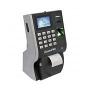 AccessPRO Control de Acceso y Asistencia Biométrico LP4, Impresora Integrada, 3000 Usuarios, USB