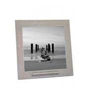 Oudgrijze Fotolijst met RVS Asbuisje (0.015 liter)