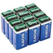 Sony - Stamina Plus 9V Batteries (12-Pack)