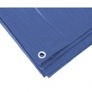 Ben Tools Blauw afdekzeil / dekzeil 4 x 6 meter