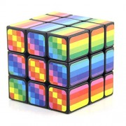 Fancyku Speed Cube, 3x3x3 Magic and Colorful Cube Puzzle Toy Perfect Gifts for Kids and Adults