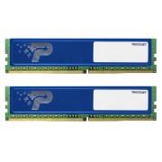 Модуль памяти Patriot Memory DDR4 DIMM 2400MHz PC4-19200 CL17 - 8Gb KIT (2x4Gb) PSD48G2400KH