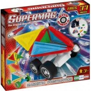 Set constructie Supermag Tags Wheels 37 piese