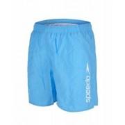 Badshorts herr Scope 16 tum ljusblå/vit från Speedo (Storlek: XL)