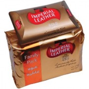 Imperial leather bath soap gold luxuriously rich with fragrance 175g (pack of 4)
