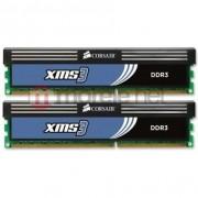 Kit Memorie Corsair 4GB (2 x 2048MB), DDR3, 1333MHz, XMS3