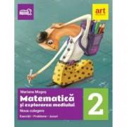 Noua culegere pentru clasa a II-a. Matematica si explorarea mediului. Exercitii probleme jocuri