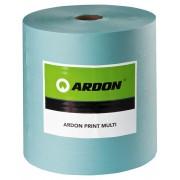 Laveta industriala Ardon PRINT MULTI, 32x38cm, 500buc, turcoaz