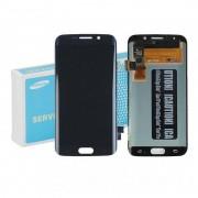 Samsung Ecrã LCD/Táctil Original Preto para Samsung Galaxy S6 Edge