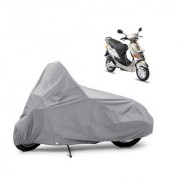AutoAge Two Wheeler Silver Cover for Hero Electric Bikes Electric E-Sprint