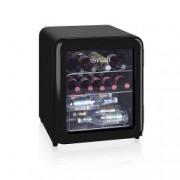 Racitor de vinuri/bauturi Swan SR16210BN, Retro, Capacitate 46 Litri, Clasa Energetica A+