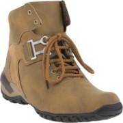 Footista Falcon Boots For Men(Tan, Brown)