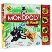 Joc de societate Monopoly Junior, 2-4 jucatori, 4 ani+