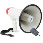 Vexus MEG040, мегафон, 40W, функция за запис, сирена, микрофон, работа с батерия, каишка (Sky-952.007)