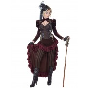 Deguisetoi Déguisement steampunk sexy femme - Taille: L (42/44)