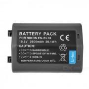 2400mAh EN-EL18 / EL18A bateria de la camara para nikon D4 D4X / MB-D12 grip