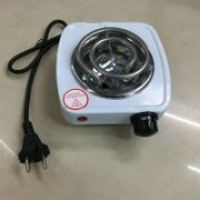 divinezon 500W Electric Iron Stove Hot Plate Heater Hotplate Electric Cooking Heater(1 Burner)