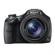 Sony DSC-HX400V Digitale camera, 20,4 megapixels, 50-maal optischezoom, 7,5 cm (3 inch), Wifi/NFC, zwart